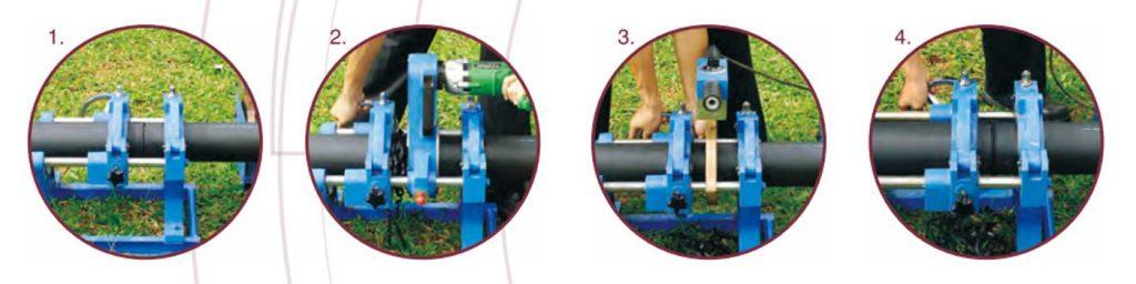 Ilustrasi Penyambungan Butt Fusion HDPE
