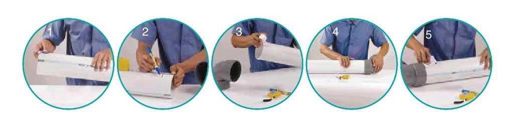 Ilustrasi Penyambungan Solvent Cement