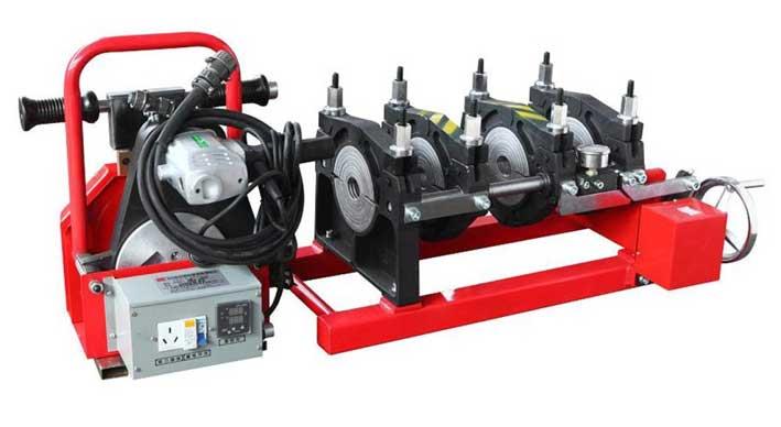 Ilustrasi Welding Machine Pipa HDPE Manual