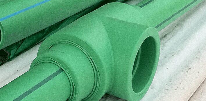 Ilustrasi Pipa Plastik Tahan Panas dari Material PPR